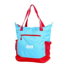 ENO Relay Festival/Yoga Tote, Aqua/Red