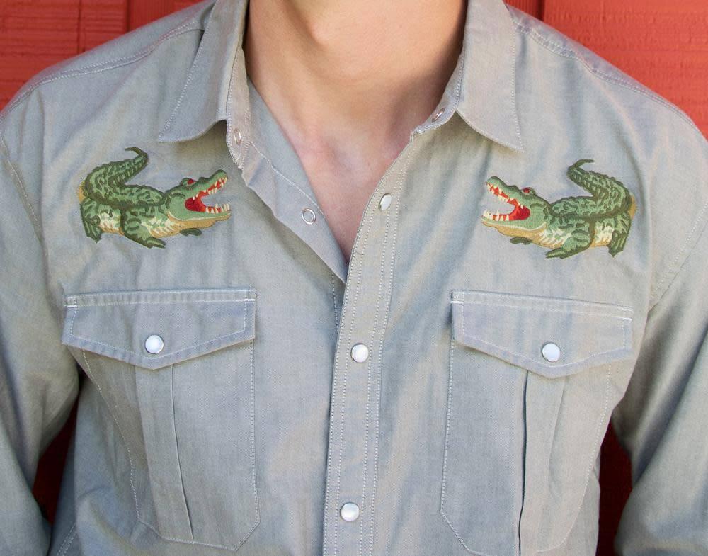 Howler Brothers Gaucho Snapshirt, Big Gators