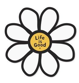 Life is Good U Die Cut Sticker Daisy LIG, Misc.