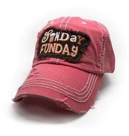 Trailer Trash Love Sunday Funday Hat, Assorted