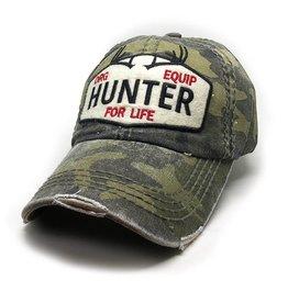 Trailer Trash Love Hunter For Life Hat, Camo