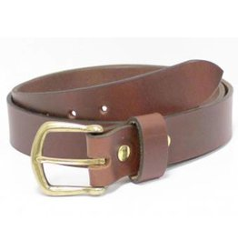 32MM Shackleton Leather Belt, Mesa Brown