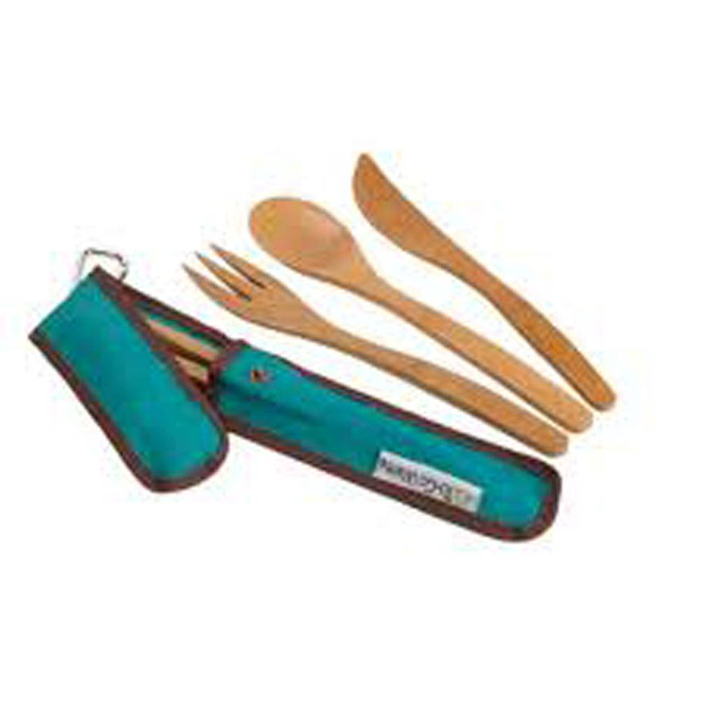 ChicoBag TO GO WARE, UTENSIL SET, TEAL