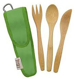 ChicoBag TO GO WARE, UTENSIL SET - GREEN