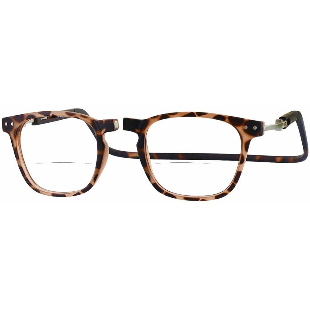Clic Manhattan Oval Reading Glasses, Tortoise
