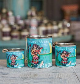 Surf's Up Candle Island Moon Paint Can Candle, Quarter Pint