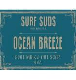Surf's Up Candle Ocean Breeze Surf Suds, 4oz