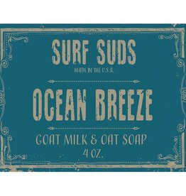 Surf's Up Candle Ocean Breeze Surf Suds, 4oz