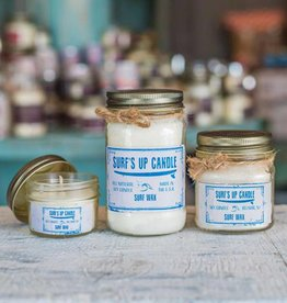 Surf's Up Candle Surf Wax Mason Jar Candle, 4oz