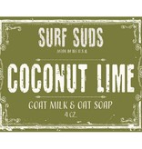 Surf's Up Candle Coconut Lime Surf Suds, 4oz