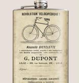 Trixie & Milo 8oz Flask Bicyclette