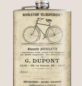 Trixie & Milo 8oz Flask Bicyclette