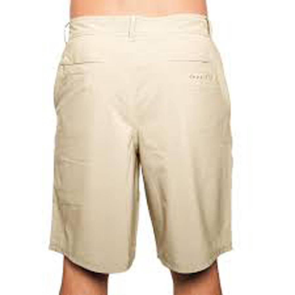"Free Fly M's Bamboo-Lined Hybrid Shorts 7.5"", Night Khaki"