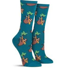 Socksmith W's Sloth Bling, Teal