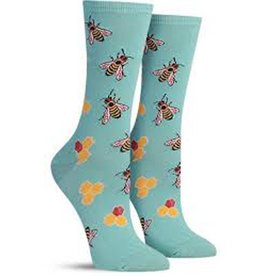 Socksmith W's Busy Bee, Seafoam