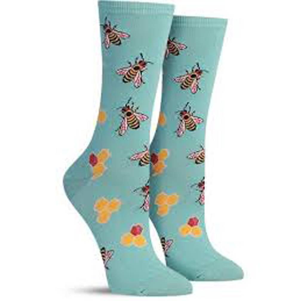 Socksmith W's Busy Bee, Seafoam