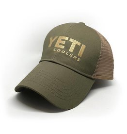 YETI Trucker Hat, Olive Tan