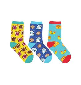 Socksmith Best Foods Forever Kids Socks 3-Pack