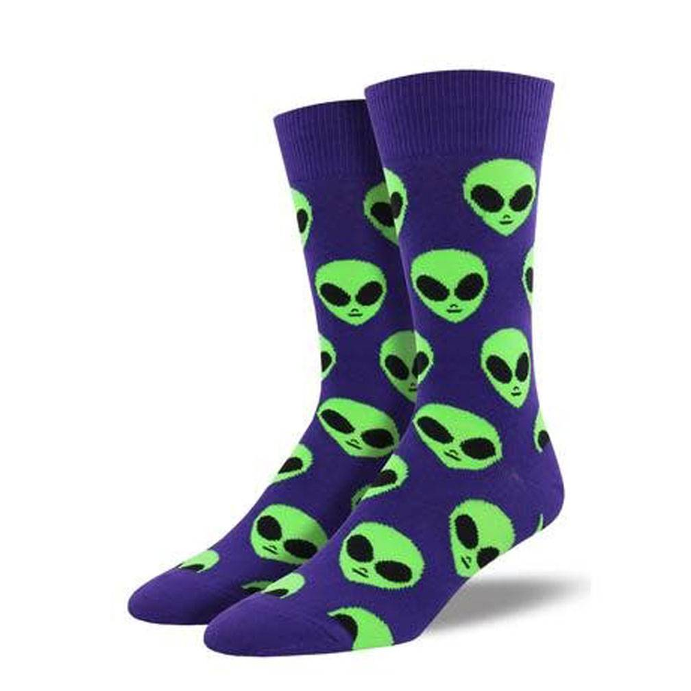 Socksmith We Come In Peace, Purple