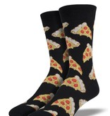 Socksmith M's Pizza Socks, Black