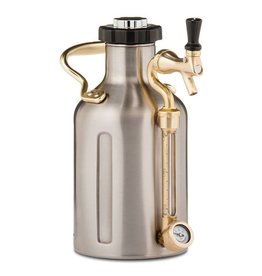 GrowlerWerks uKeg 64, Stainless