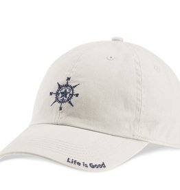 Life is Good A Chill Cap Sketched, Compass Bone
