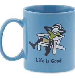 Life is Good U Everyday Mug Adirondack Lig Mountain Green