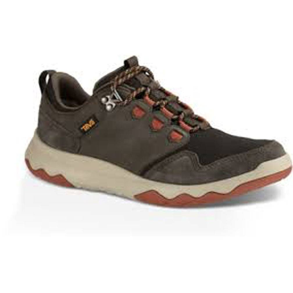 TEVA M's Arrowood WP, Black Olive/Fire Brick