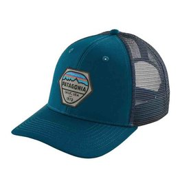 Patagonia Fitz Roy Hex Trucker Hat, Shadow Blue