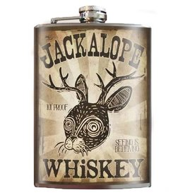 Trixie & Milo 8oz Flask, Jackalope
