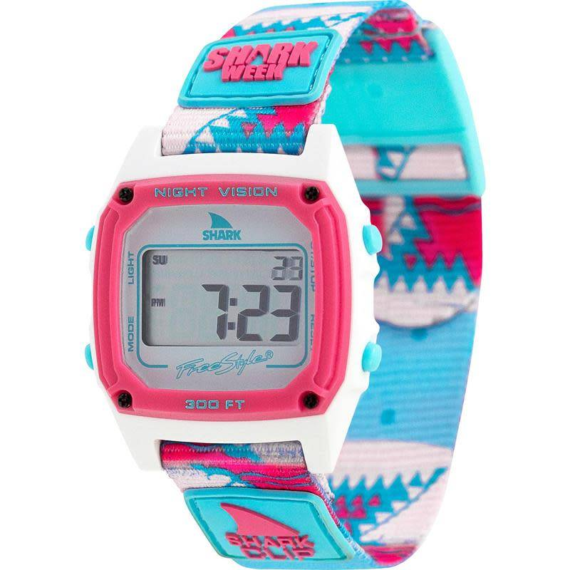 Freestyle Watches Shark Classic Clip Shark Week Pink Teeth