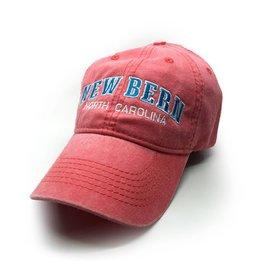 New Bern Vintage Baseball Cap ,Coral