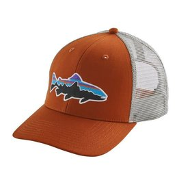 Patagonia Fitz Roy Trout Trucker Hat, Copper Ore