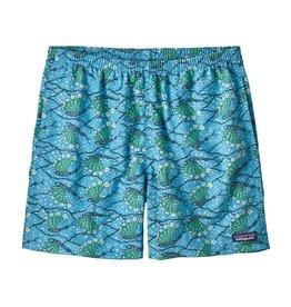 Patagonia Men's Baggies Shorts 5 in, Hexy Fish: Radar Blue