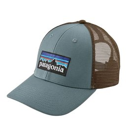 Patagonia P-6 Logo LoPro Trucker Hat, Shadow Blue