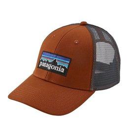 Patagonia P-6 Logo LoPro Trucker Hat, Copper Ore