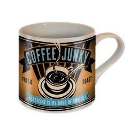 Trixie & Milo Mug, Coffee Junkie