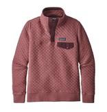 Patagonia Women's Organic Cotton Quilt Snap-T P/O, Kiln Pink