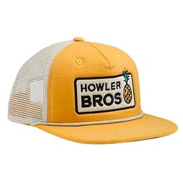 Howler Brothers Pineapple Snapback Hat, Yellow