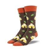 Socksmith Hoppier Together Socks, Brown Heather