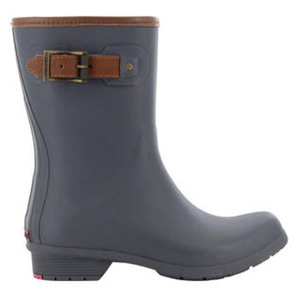 Washington Shoe Company Women's Chooka City Solid Mid Boot, Charcoal