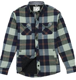 Jetty Marshender Quilted Flannel Jacket, Moss