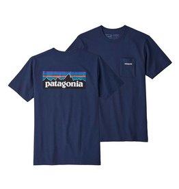 Patagonia Patagonia P-6 Logo Pocket Responsibili-Tee, Classic Navy