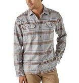 Patagonia Patagonia Men's Fjord Flannel Shirt, Activist: Feather Grey