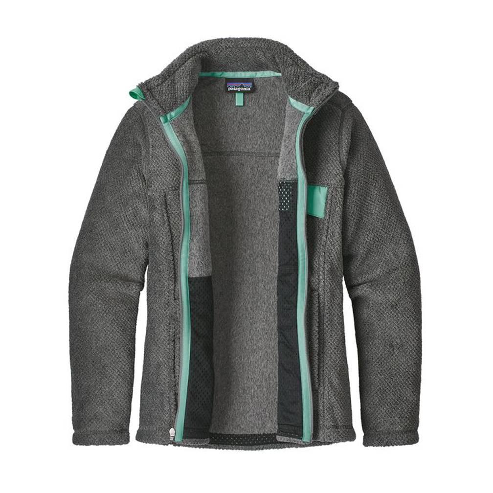 Patagonia Patagonia Women's Re-Tool Full Zip Jacket, Feather Grey- Ink Black w/Vjosa Green X-Dye