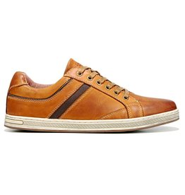 Propet Men's Lucas Leather Shoe, Brown