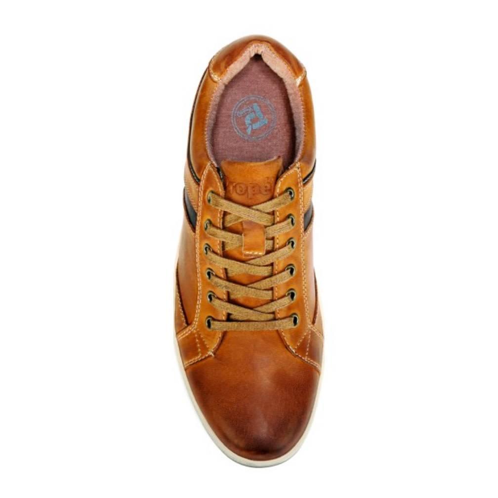 Propet Men's Lucas Leather Shoe, Brown