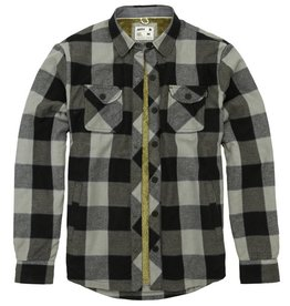 Jetty Men's Creek Sherpa Lined Flannel, Grey