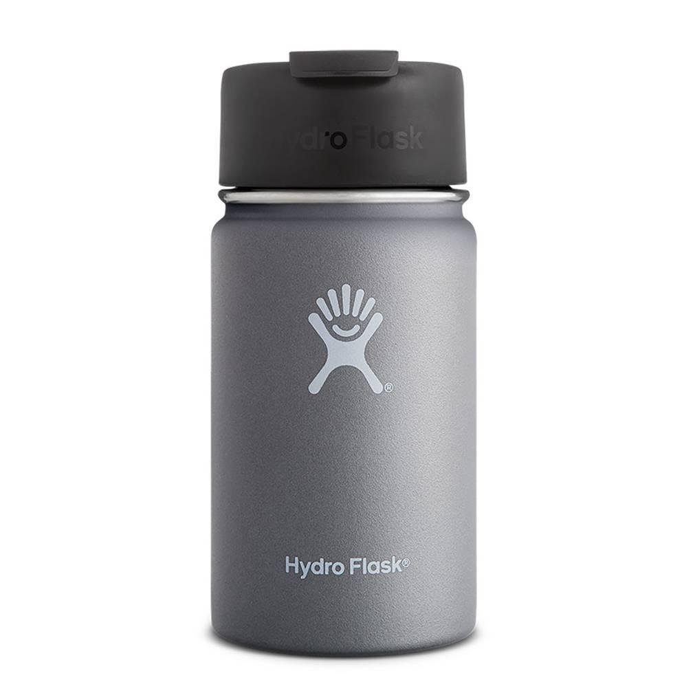Hydroflask 12 oz. Wide Mouth  w/Flip Lid, Graphite