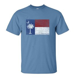 S.L. Revival Co. Carolina Strong T-Shirt, Blue